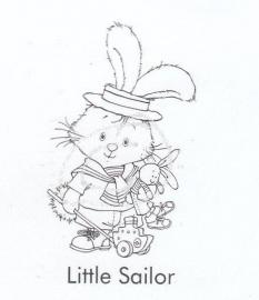 Nellie`s Clearstamp Hoppie Little Sailor 001