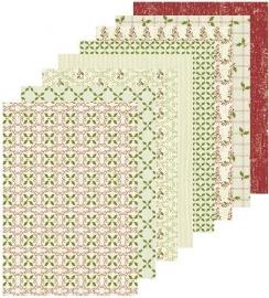 Leane Christmas Design papier rood 51.8329