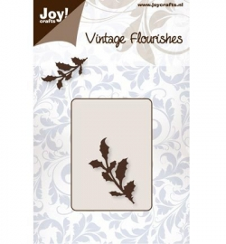 Joy! Cutting - Vintage Flourishes holly 6003/0059
