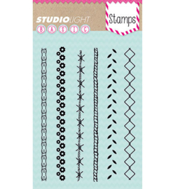 Studio Light Clear Basic Stamp SL207