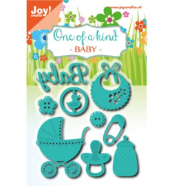 Joy! Snij en embosmal Baby set 6002/0638