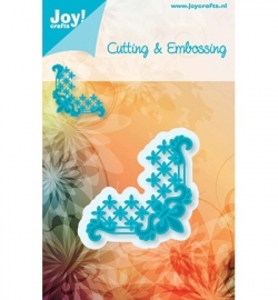 Joy! C & E - Stencil hoek lelie 6002/0262