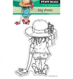 Penny Black Clearstamp Big shoes 30359