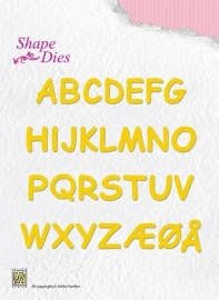 Nellie Shape Dies - Alphabet SD037