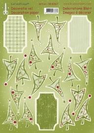 Leane knipvellen - Label decoratie 2