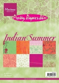 MD pretty paper bloc Indian Summer PK9076