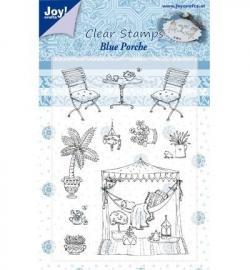 Joy! Clearstamp Blue Porche 6410/0350