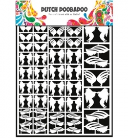 Dutch Doobadoo paper art Feathers 472948013
