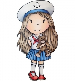 Paper Nested Dolls » Rubber Stamps  Nautical Ellie PND2383