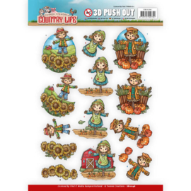 Push Out - Yvonne Creations Country Life Scarecrow SB10248