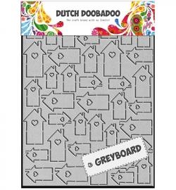 DDD Greyboard Art Houses 492.006.001