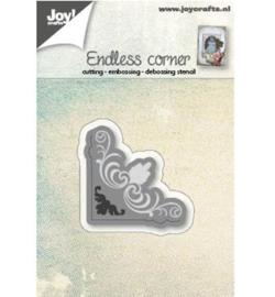 Joy! Cutting  & embossing Hoekje endless sier 6002/0567