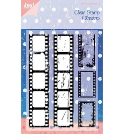 Joy! Clearstamp filmstrip 6410/0077