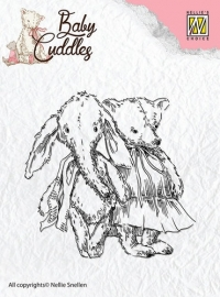 NS Clear Stamps - Baby Cuddles - Cuddly friends CSBC005