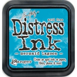 Distress Ink Marmaid Lagoon