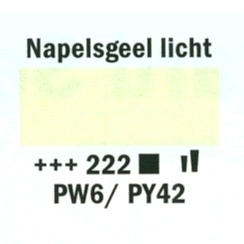 Amsterdam Acrylverf 20ml 222 Napelsgeel licht