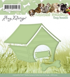 Die  Amy Design  Animal Medley  Dog house ADD100022