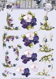 Marieke knipvel bloemen CD10356