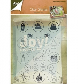 Joy! Clearstamp Kerst 6410/0126