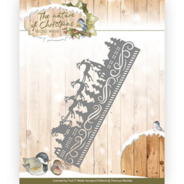 Die - Precious Marieke - The nature of Christmas - Christmas Border PM10099
