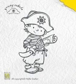 Clearstamp Young rebels Brave Captain 003