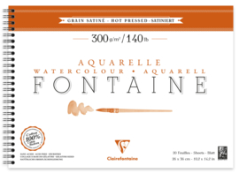 Fontaine Aquarelle 300gr/m² Hot Pressed