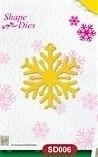 Shape Die SD006 Snowflake