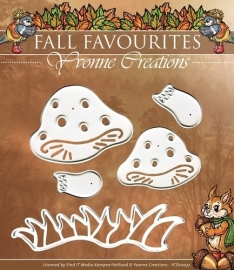 Die - Yvonne Creations - Fall Favourites - Toadstool YCD10032