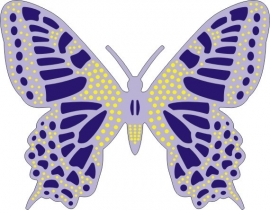 Exotic Butterfly med.#2 DL115