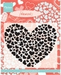 MD Clearstamp Heart XL CS0951