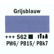 Amsterdam Acrylverf 120ml 562 Grijsblauw