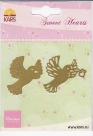 Sweet hearts mal Duif SH0903