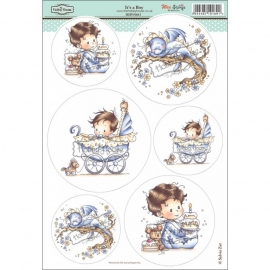 Wee Stamps It's A Boy HHWS015
