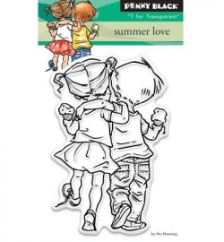 Penny Black Clearstamp Summer love 30328