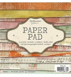SL Paperpad 15x15 36vellen PPSL05