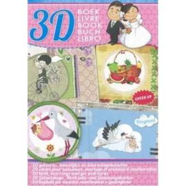 Studio Light A4 boek 20 Gelegenheidskaarten A4SLBOEK90
