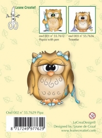 Clear Stamp Owl Pipa
