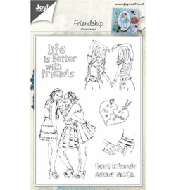 Joy! Crafts clearsamp Friendship 6410/0450