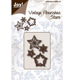 Joy! Cutting  Flourishes Sterren 6003/0072