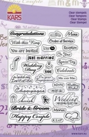 Kars clearstamp Wedding UK 1800013/1302