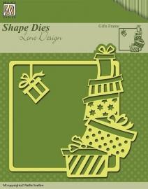 Shape Die Lene Design - Gifts frame SDL006