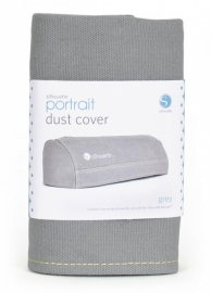 Silhouette portrait Dust Cover Grey