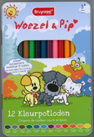 Bruynzeel Woezel en pip kleurpotloden 12