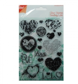 Joy! Crafts Clearstamp Sending Love 6410/0330