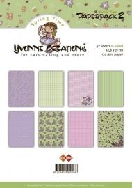 Yvonne`s paper block 2