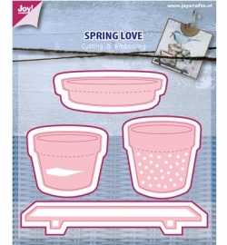 Cutting & Embossing - Spring Love 6002/0439