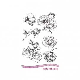 Katzelkraft French Roses unmounted KTZ176
