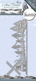 Die - Amy Design - Wintertide - Scenery ADD10080
