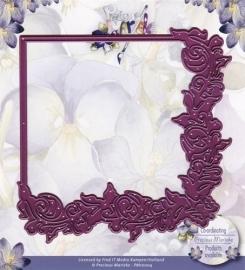 Die - Precious Marieke - Floral frame PM10004