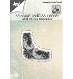 Joy! Cutting  & embossing Hoekje endless vintage 6002/0561